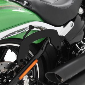 Hepco & Becker C-Bow Carrier For Harley-Davidson Softail Breakout in Black
