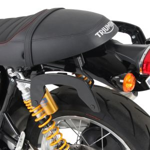 Hepco & Becker C-Bow Carrier For Triumph Thruxton & R '16- in Black