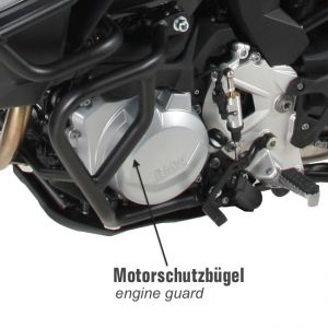 Hepco & Becker Engine Guard BMW F750GS & F850GS Black