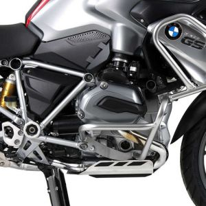 Hepco & Becker Engine Guard - BMW R1200GS LC in Silver '14-'16 (Does NOT Fit With New R1200GS Tank Guards From Hepco & Becker)