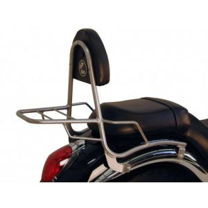Sissy Bar - Kawasaki VN 900 Classic / Custom With Rear Rack in Chrome