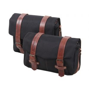 Hepco & Becker Legacy Courier Bag Set M/L C-Bow Carrier Black