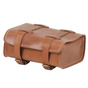 Hepco & Becker Legacy Rear Leather Bag in Khaki