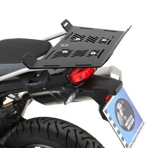 Hepco & Becker Rear Enlargement Rack BMW F750GS & F850GS (With OEM BMW Saddelbags)