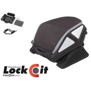 Hepco & Becker Rear Royster Soft Bag in Black (Lock-it Version)
