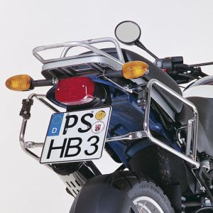 Side Carrier - BMW R1150 GS in Chrome