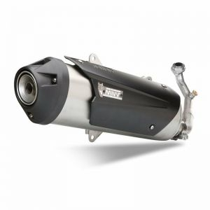 MIVV Exhaust Full System (With Cat) Kymco Downtown 350 2015-2016 Stainless Steel