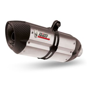 MIVV Exhaust Suono Slip-On Honda NC750S / NC750X 2016-