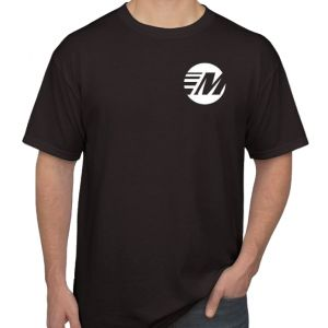 Moto Machines Men's T-Shirt - Black