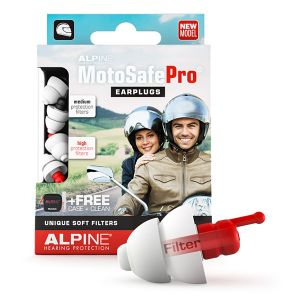 Alpine Hearing Protection Motorcycle Earplugs