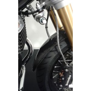 Pyramid Plastics Extended Front Mudguard (Real Carbon) for BMW R NineT