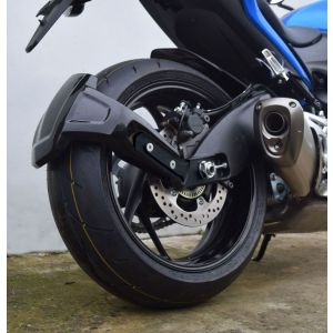 Pyramid Plastics Rear Spray Guard (Black) for Suzuki GSXS1000 & GSXS1000F