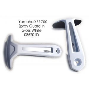 Pyramid Plastics Rear Spray Guard (White) for Yamaha MT-07, FZ-07