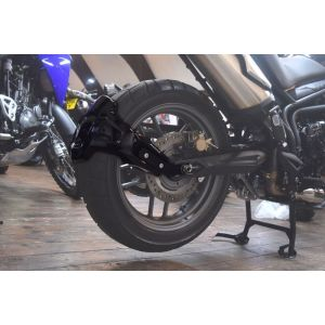Pyramid Plastics Rear Spray Guard (Black) for Triumph Tiger 800