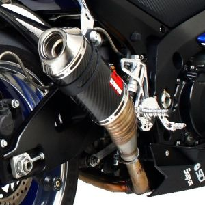 Scorpion Tagma Slip-On Exhaust Suzuki GSXR1000 2007-2008 Carbon Fiber