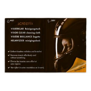 Screenix Motorcycle Helmet Visor Wipes