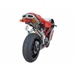 ZARD Exhaust 2-1-2 Understeat Full System Ducati Dual Seat 749 / 999