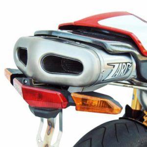 ZARD Exhaust 2-1-2 Understeat Full System Ducati Single Seat 749 / 999