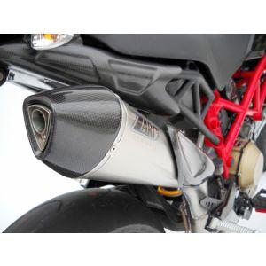 ZARD Exhaust 2-1 Scudo Full System Ducati Hypermotard 1100 EVO