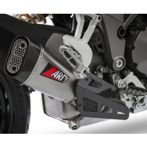 ZARD Exhaust Ducati Multistrada 1260 Slip-On Stainless Steel 2019-