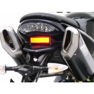 ZARD Exhaust High Mount Slip-On Triumph Street Triple 675