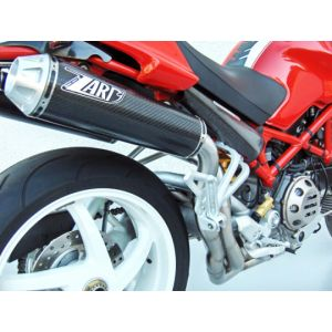 ZARD Exhaust High Mount With Header Kit Ducati Monster S4RS