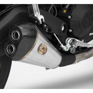 ZARD Exhaust Low Mount Slip-On Ducati Monster 797 2017-2019