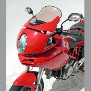 Ermax High Screen Windshield +5cm for Ducati 620,1000,1100DS Multistrada '04-'09
