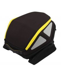 Hepco & Becker Rear Royster Soft Bag in Yellow (Tie Down Version)