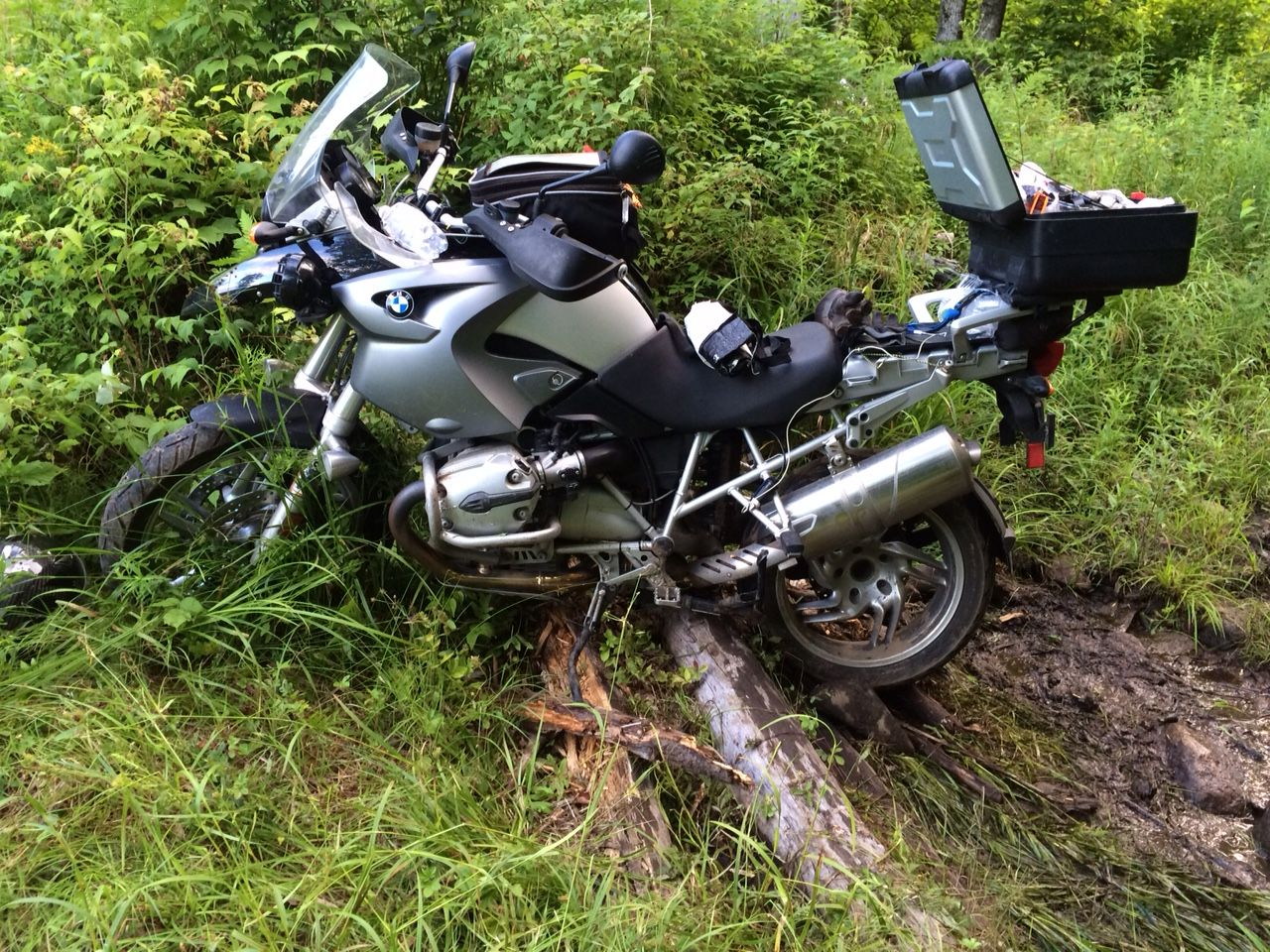 BMW R1200GS Hepco Becer Crash Bar