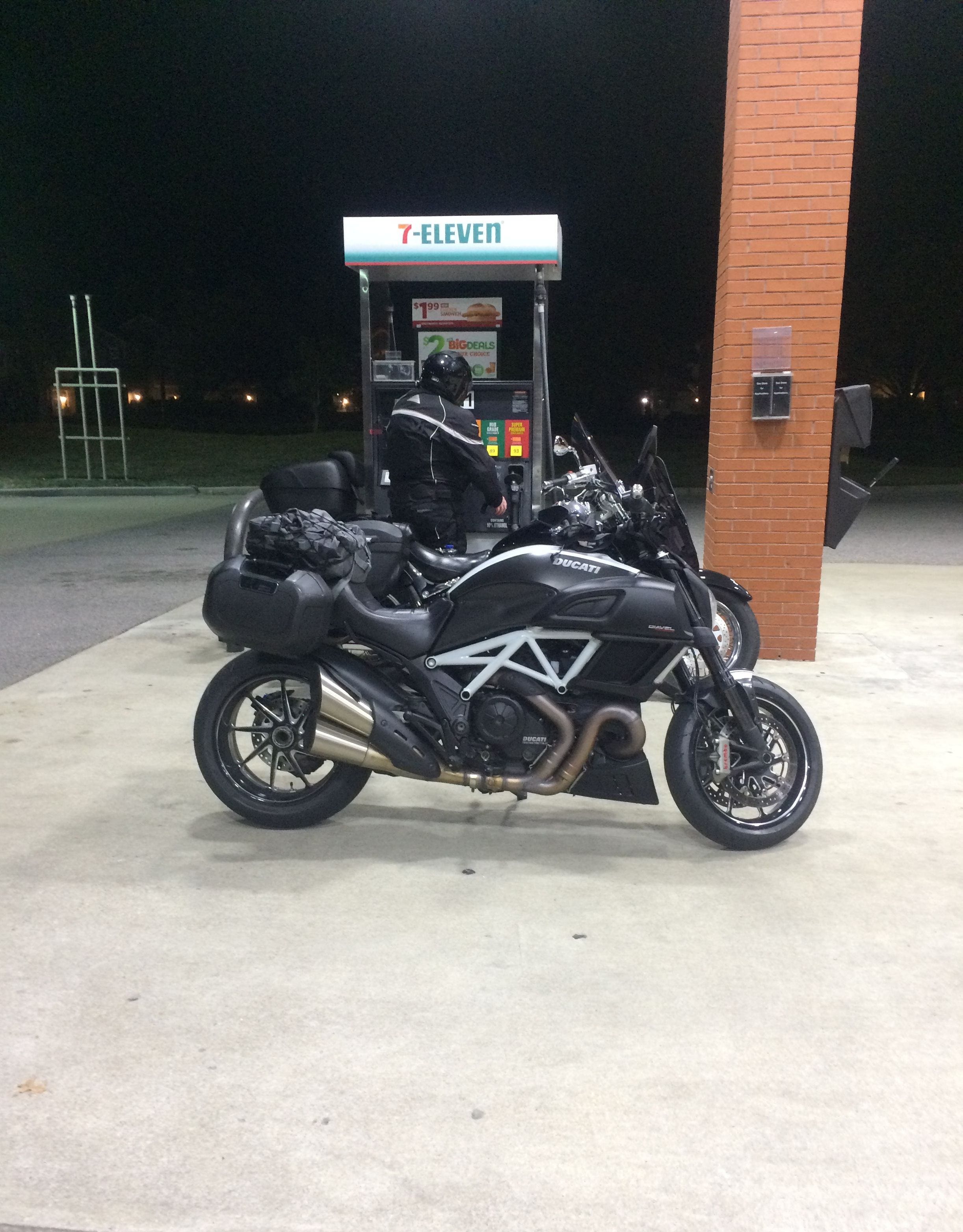 Ducati Diavel With Hepco Becker Orbit Cases
